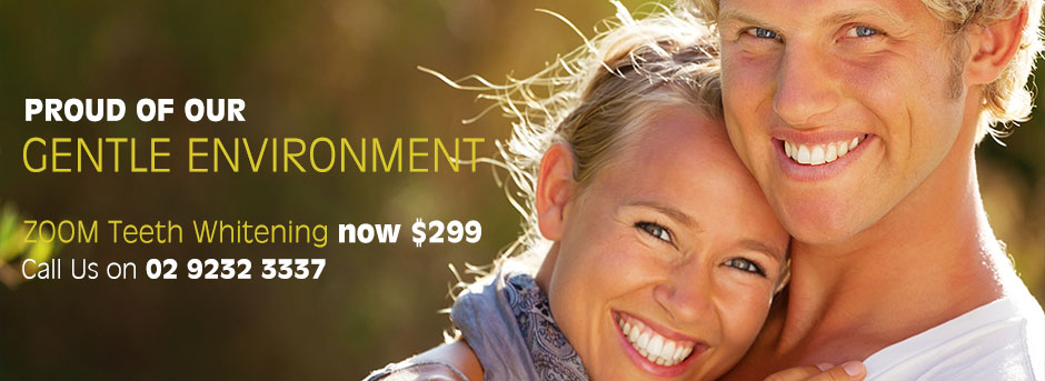 Dentist in Glebe offering dental implants & zoom teeth whitening at affordable prices